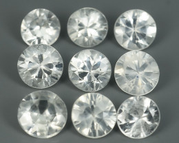 4.00 CTS~EXCELLENT NATURAL WHITE ZIRCON~ ROUND  ~ NICE QUALITY GOOD LUSTER!