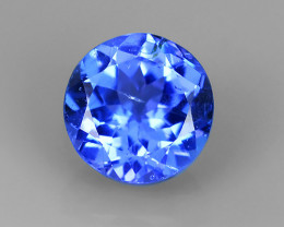 ~AWESOME NICE 5.76 MM MIXED ROUND BLUE NATURAL TANZANITE FACET GEM~