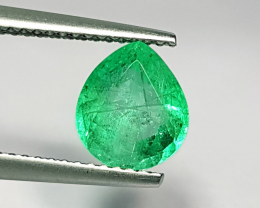 Certified Colombian Emerald 1.56ct.