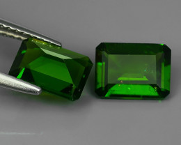 2.90 CTS NATURAL ULTRA RARE CHROME TOP GREEN DIOPSIDE RUSSIA~