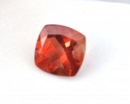 2.42 Carat Fine Cushion Cut Red Sunstone