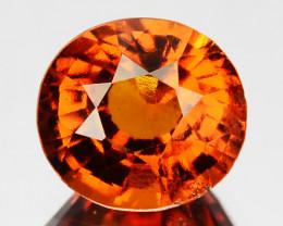 2.17 Cts Natural Cinnamon Orange Hessonite Garnet Oval Cut Sri Lanka
