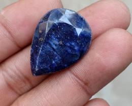 BLUE SAPPHIRE BIG NATURAL GEMSTONE Treated VA2596