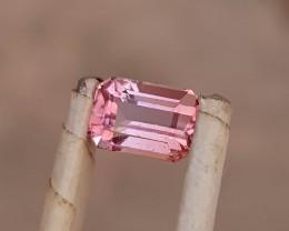 2.10 Ct Natural Pinkish Transparent Ring Size Tourmaline Gemstone