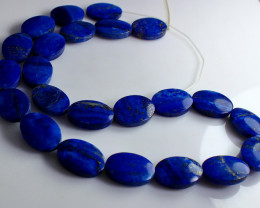 113 CT Natural ~ Unheated Blue Lapis Beads Necklaces
