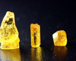 13.40 CT Natural & Beautiful Yellow Beryl  Heliodor Crystal Lot