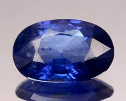 ~CERTIFIED~ 1.698 Cts Natural Blue Sapphire Oval Cut Sri Lanka