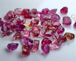 39.40 CT Natural - Unheated Pink Garnet Rough Lot