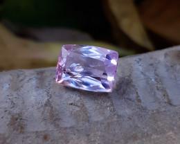 4.60 Ct Natural Light Pinkish Transparent Kunzite Gemstone