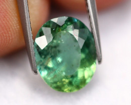 3.31Ct Natural Color Change Green Apatite A2210