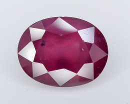 3.80 Crt Rhodolite Garnet Faceted Gemstone (R9)