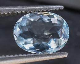 1.22 Crt Aquamarine Faceted Gemstone (R9)