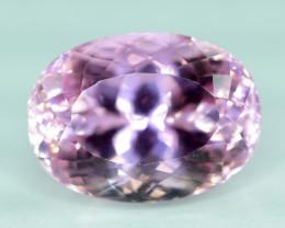 NR Auction - 18.05  cts Natural Pink Color Kunzite Gemstone
