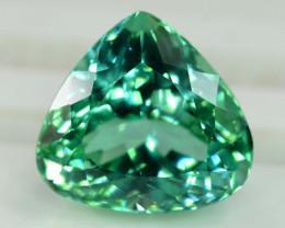 NR Auction - 11.15 Cts Beautifull Lush Green Spodumene Gemstone