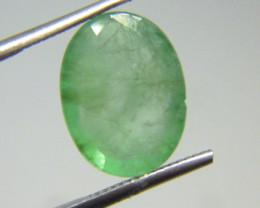 7.77cts  Zambian Emerald , 100% Natural Gemstone