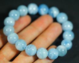 215.0Ct Natural Aquamarine Bracelet