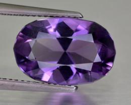 4.25 Cts Purple Amethyst Gemstone-Natural