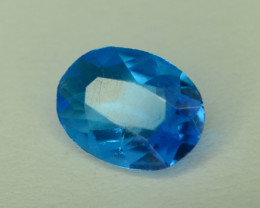 Neon Blue Apatite ~ Awesome Color and Luster