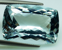 Unheated - 31.52  ct Natural Blue Aquamarine – IGE Certificate