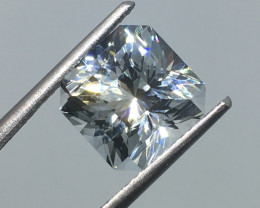 "5.68 Carat VVS Topaz - Cool Ice Blue Unheated Mastercut "" EXOTIC &quot"
