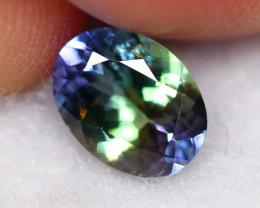 1.08cts Natural Violet Blue Tanzanite /04