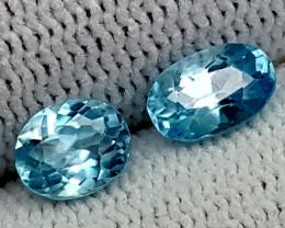 2.55CT BLUE ZIRCON  BEST QUALITY GEMSTONE IGC47