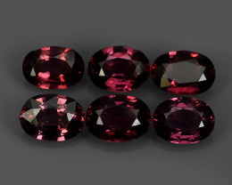 5.55 CTS~EXCELLENT~NATURAL RHODOLITE ~ OVAL  ~ NICE QUALITY GOOD COLOR NR!!