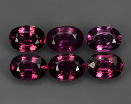 5.85 CTS~EXCELLENT~NATURAL RHODOLITE ~ OVAL  ~ NICE QUALITY GOOD COLOR NR!!