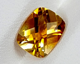 1.70Crt Madeira Citrine  Best Grade Gemstones JI144