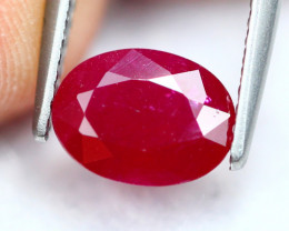 1.83Ct Natural Burmese Heated Only Ruby ~ E2308