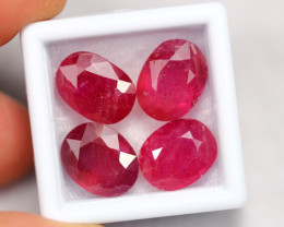 27.19Ct Madagascar Pinkish Red Ruby Parcel ~ E2313