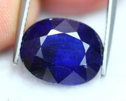 8.14Ct Dark Blue Ceylon Blue Sapphire ~ E2314