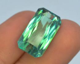 14.60 Ct Green Spodumene Gemstone From Afghanistan