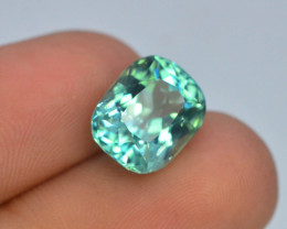5.70 Ct Green Spodumene Gemstone From Afghanistan
