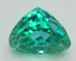 6.95 Ct Green Spodumene Gemstone From Afghanistan