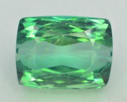 15.20 Ct Green Spodumene Gemstone From Afghanistan