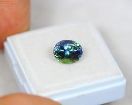 2.56ct Greenish Violet Blue Tanzanite Oval Cut Lot GW3076