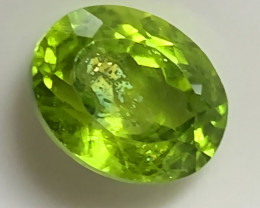 3.98cts Big Absolutely Fabulous Large Pakistan Peridot  - NR