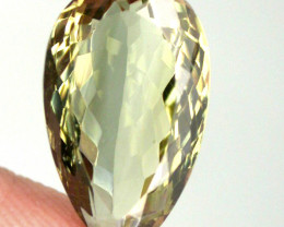 6.84ct Lovely Green Amethyst  (Prasiolite) - NO RESERVE AUCT