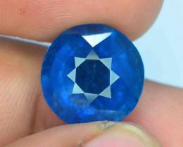 13.05 ct Indicolite Tourmaline Exceptional Royal Blue Color
