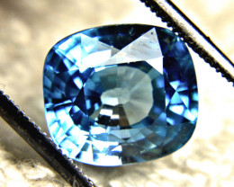 7.99 Carat Blue Southeast Asian VVS Zircon - Gorgeous
