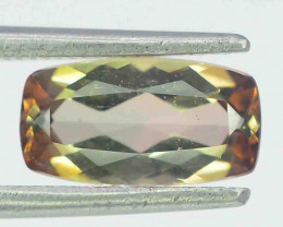 1.25 Carats Natural Double Shade Color Andalusite Gemstones