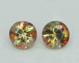 1.35 Carats Natural Double Shade Color Andalusite Gemstones