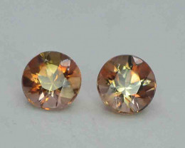 0.80 Carats Natural Double Shade Color Andalusite Gemstones