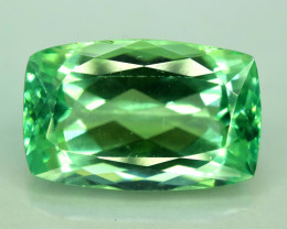 No Reserve - 14.45  Carats Lush Green Spodumene from Afghanistan