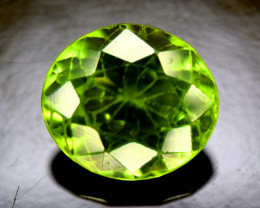 NR Auction ~ 3.10 Carats Olivine Green Natural Peridot Gemstone