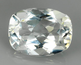 12.00 CTS DELUXE REAL~WHITE NATURAL TOPAZ CUSHION UNHEATED NR!!