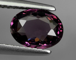 1.40 CTS  DAZZLING GOOD LUSTER 100% NATURAL PURPLE-PINK SPINEL GEM STONE