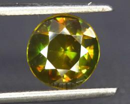 S#31-58 , 1.50 cts AAA Grade Full Fire Natural Sphene Gemstone