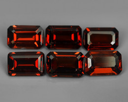 4.10 CTS~EXQUISITE NATURAL UNHEATED RED COLOR  GARNET!!